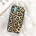 Unique Shell DG Protective Leather Back Covers Holster Cases For iPhone 11 Pro - Leopard