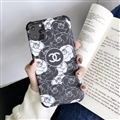 Brand Chanel Shell Matte Covers Protective Back Cases For iPhone 11 Pro Max - Black