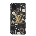 Classic LV Housing Matte Covers Protective Back Cases For iPhone 11 Pro Max - Gold