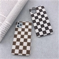 Classic Lattice Skin LV Leather Back Covers Holster Cases For iPhone 11 Pro Max - 06