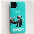 Cute Kaws Shell Matte Covers Protective Back Cases For iPhone 11 Pro Max - Green
