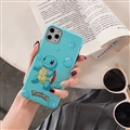 Cute Pokemon Shell Matte Covers Protective Back Cases For iPhone 11 Pro Max - Lightblue