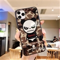 Supreme Mirror Surface Glass Cases Shell For iPhone 11 Pro Max Silicone Soft Covers - Panda