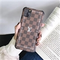 Brand LV Shell Matte Covers Protective Back Cases For iPhone 11 - Brown