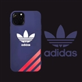 Classic Adidas Shell Matte Covers Protective Back Cases For iPhone 11 - Blue
