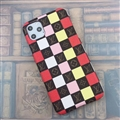 Classic Lattice Skin LV Leather Back Covers Holster Cases For iPhone 11 - 01