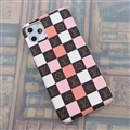 Classic Lattice Skin LV Leather Back Covers Holster Cases For iPhone 11 - 02