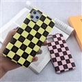 Classic Lattice Skin LV Leather Back Covers Holster Cases For iPhone 11 - 03