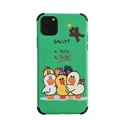 Cute Brown Shell Matte Covers Protective Back Cases For iPhone 11 - Green