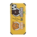 Cute Brown Shell Matte Covers Protective Back Cases For iPhone 11 - Yellow