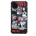Cute Monkey.D.Luffy Shell Matte Covers Protective Back Cases For iPhone 11 - Black