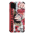Cute Monkey.D.Luffy Shell Matte Covers Protective Back Cases For iPhone 11 - Red