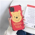 Cute Winnie the Pooh Shell Matte Covers Protective Back Cases For iPhone 11 - Red
