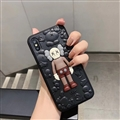 Kaws 3D Casing Cute Cartoon Cases Shell For iPhone 11 Silicone Soft Covers - Brown