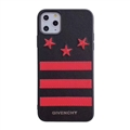 Unique Housing Givenchy Genuine Leather Back Covers Holster Cases For iPhone 11 - Red 03