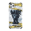 Classic Kaws Shell Matte Covers Protective Back Cases For iPhone 12 Pro Max - White