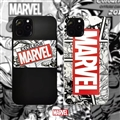 Unique Marvel Shell Matte Covers Protective Back Cases For iPhone 12 Pro Max - Black