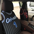 Fashion NBA Basketball Auto Cloth Universal Car Seat Clothes Cover 1pcs - Orlando Magic 1 Black