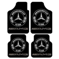 Unique Mercedes-Benz Genenal Automotive Carpet Car Floor Mats Velvet 4pcs Sets - Black